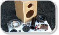 DIY Loudspeaker kit (with enclosure)