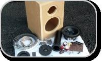 DIY Loudspeaker kit (with enclosure)