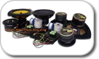 Loudspeaker kit without cabinet
