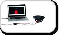 Measuring device of loudspeakers.