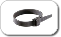 Cable clip type collar
