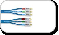 Câble trois RCA vers trois RCA