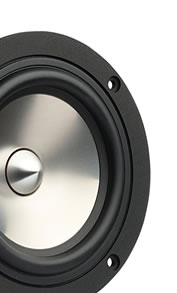 Visaton bass and midrange speakers