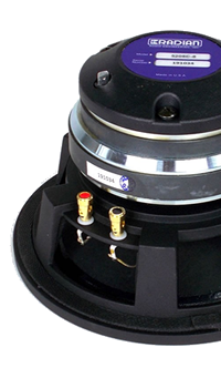 Radian coaxial speakers