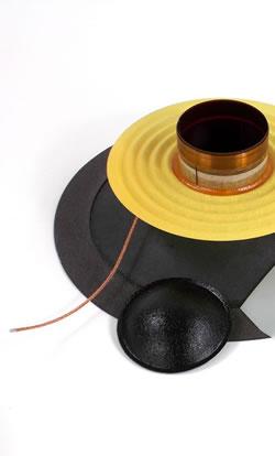 Recone kit to repair Audax speakers