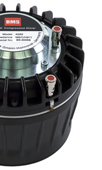 BMS coaxial compression driveers