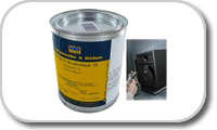 Warnex Paint for acoustic loudspeakers