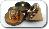 Spikes and absobers for acoustic loudspeakers