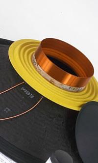 Diaphragmes et Recone kit pour haut-parleurs Beyma