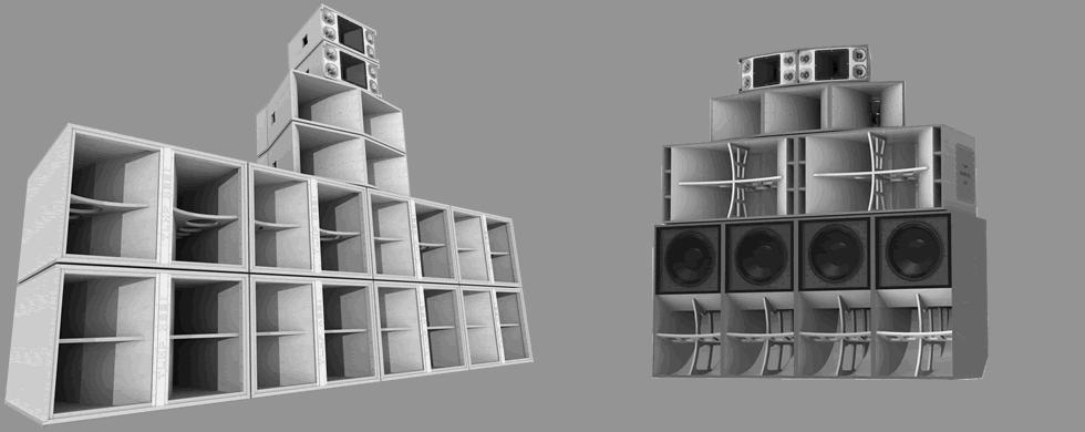 5-way flat pack Sound System kit TLHP APOLLON-V
