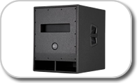 Subwoofer for professional systems