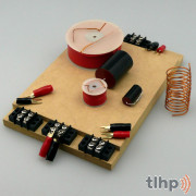 3-way crossover kit, frequency cut at 800 et 8000 Hz, 6 dB, 8 ohm